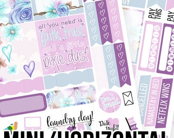 I Believe Mini/Horizontal Kit - Planner Stickers