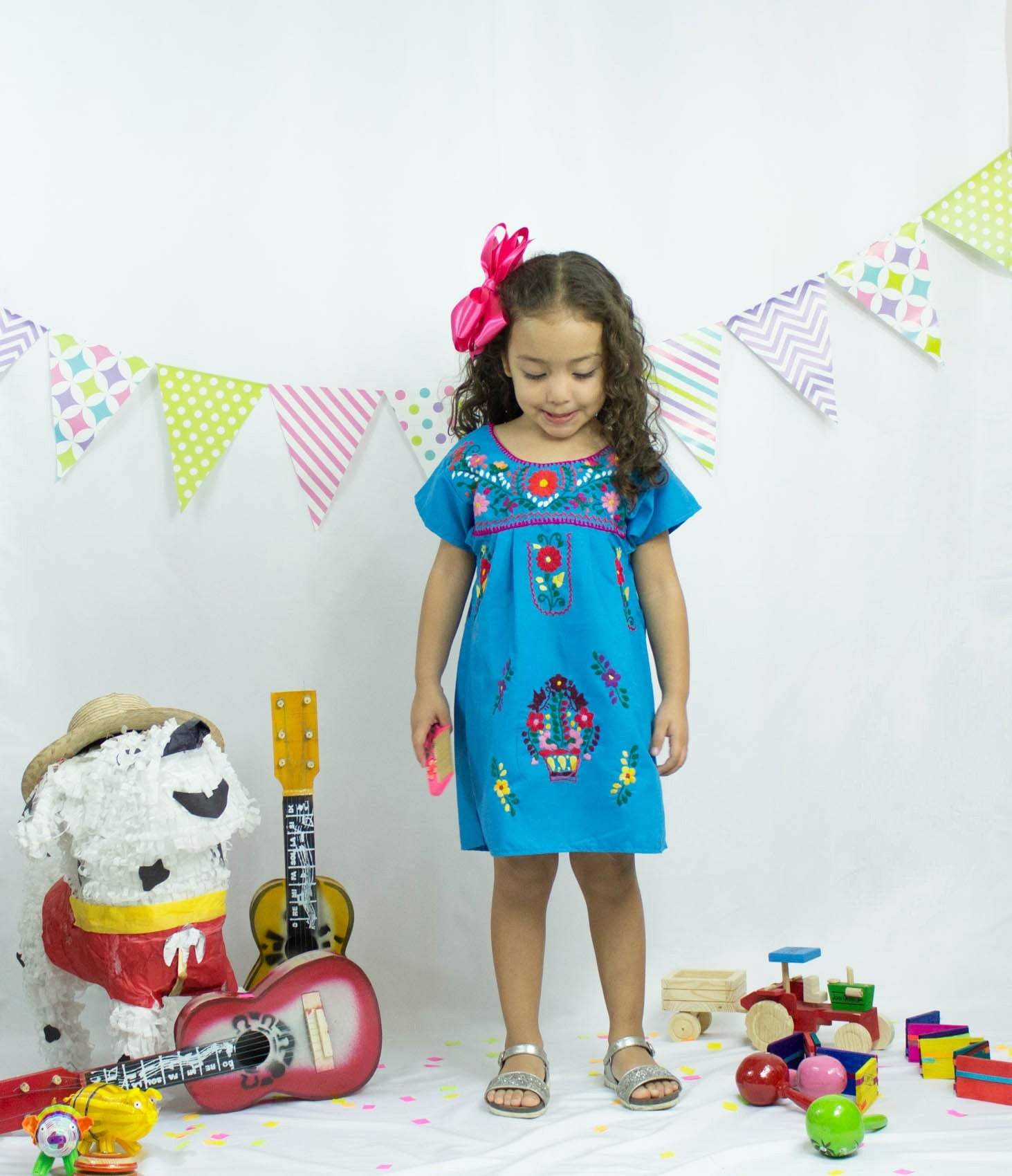 Mexican party - Girl - 4 years old - fiesta - folk - baby - birthday ...