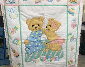Baby Bear Quilt