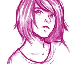 Digital Sketch Portraits