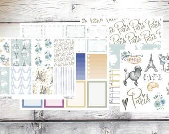 Paris Planner Stickers Weekly Kit for Erin Condren Vertical Planner