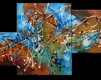 Painting  abstracts expression