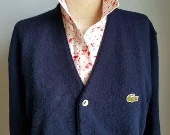vintage orlon acrylic cardigan sweater