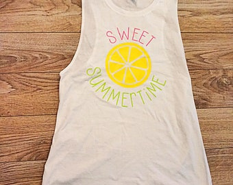 Sweet Summertime Tank