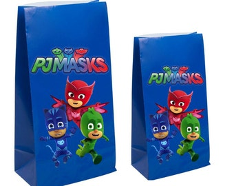 Pj masks party favor gift bags- birthday party Decorations & Decor