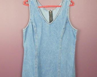 Reworked Vintage Denim Dress