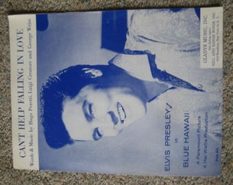 Elvis Presley I Can't Help Falling In Love With You Sheet Music