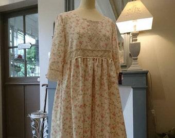 DRESS LEONIE, romantic, Victorian, chabby chic, Bohemian, hippie Gypsy