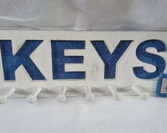 Harris Tweed Key Rack