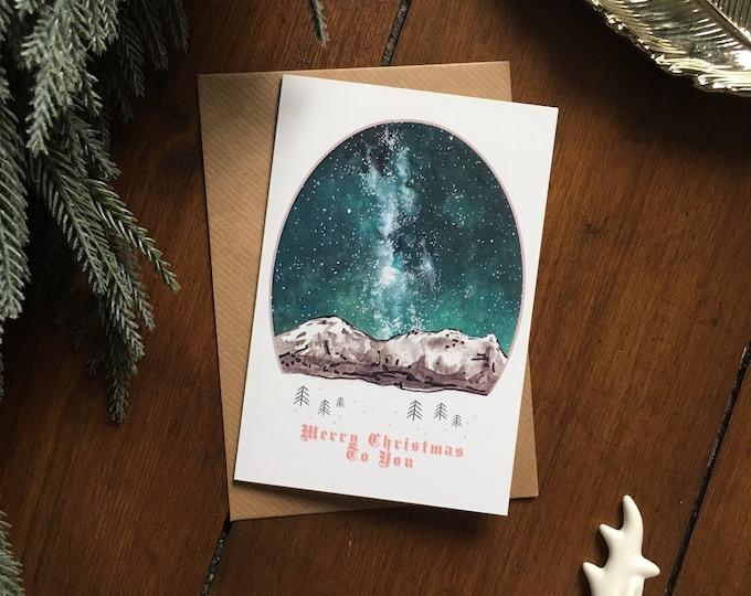 Scandinavian Christmas Card - Single