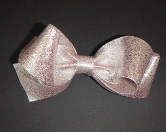 Over Size Bow, Pink Glitter Bow, Pink Hair Bow, Girls Hair Bow, Women Hair Bow, Hair Accessories