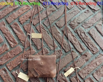 Leather Bag Small / Party-Bag _ Brown