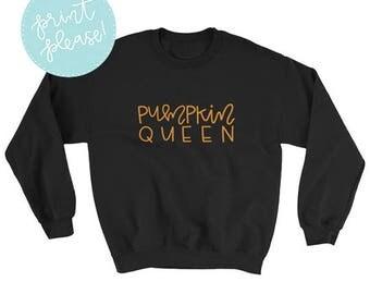 Pumpkin Queen Sweatshirt