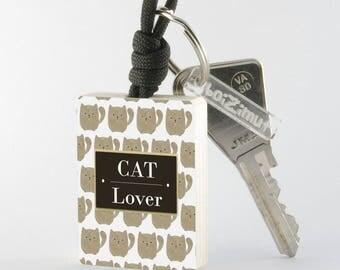"""Key fob """"Cat Lover"""""""