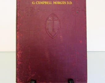 1909 The Analysed Bible by G. Campbell Morgan D.D.