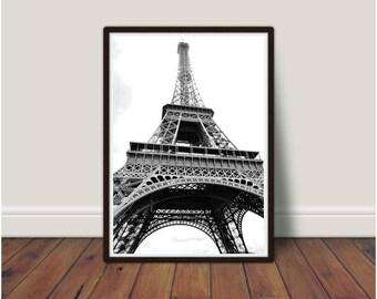 Eiffel Tower Print, Paris Print, Paris Wall Art, Bedroom Decor, Bedroom  Prints