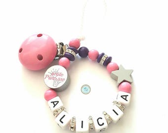 Personalized Princess pacifier