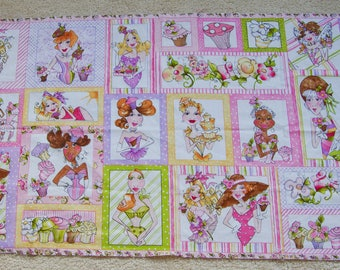 NEW LISTING! Loralie Harris Hey Cupcake Panel Out of Print