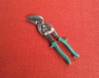 Vintage Craftsman Right Angle Compound Leverage Aviation Snips Tin Snips Made In USA
