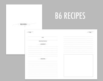B6 TN Recipes