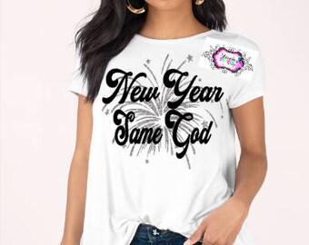 New year Svg, New Year 2018, Cameo, Cricut, Cutting Machine, Vinyl, Spiritual