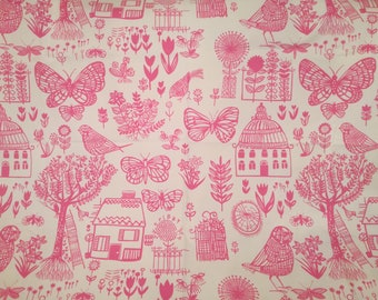 Designers Guild Fabric Cotton Fabric Modern Floral Countryside Upholstery BOQUERIA 1.4 Yard