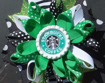 Starbucks Loopy Bow