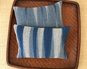 A Set of Two Organic Buckwheat Hull Travel/Support Cushions - SC3