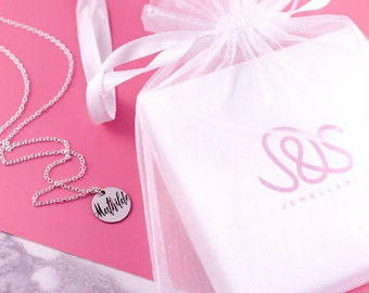 Bridesmaid Ask Gift   Custom Name Necklace   Ask Bridesmaids   Will you Be My   Ask Flowergirl   Bridesmaid Jewelry   Maid Of Honor Sister