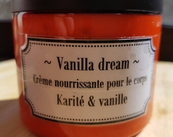 """Vanilla dream"", Shea butter and vanilla cream"