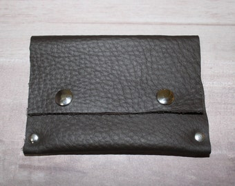 Brown Leather Wallet | Handmade Leather Wallet | Leather Wallet | Handmade Wallet | The Sandy Vine