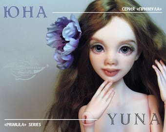 Yuna, Primula series BJD head