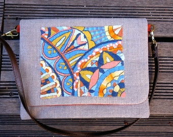 The evening clutch bag flap and strap mosaic inspiration