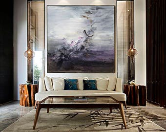 Abstract Painting, Contemporary Art, Large Art, extra large wall art, Landscape oil painting, large abstract oil painting, large canvas art