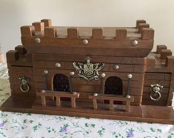 S Sper Bijou Castle Liquor Cabinet