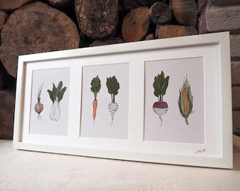 Vegetable Print