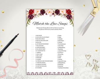 wedding songs template