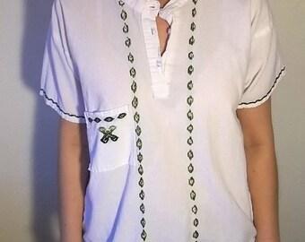 Matcha Green Stitching Top