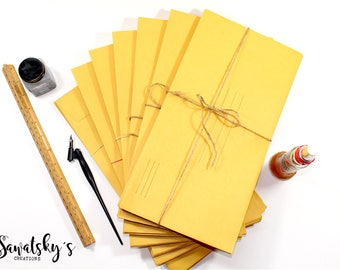 Vintage Kraft Paper Envelopes Collection of 10