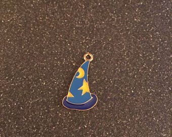 Mickey Mouse Sorcerer hat charm, wizard hat charm