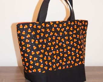 Trick-or-treat Bucket, Trick-or-Treat Bag, Trick or Treat, Trick-or-treat bag personalized, Halloween Bucket, Bucket Bag, Candy Corn