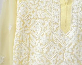 beach coverup kaftan kurti summer fashion floral caftan dress full sleeves sheer dress