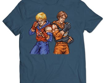 Double Dragon Billy and Jimmy Lee T-shirt