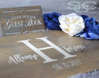 Alternative Wedding Guest Book Sign