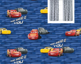 Disney Cars Curtains Construction Vehicles Curtain Panels Disney Nursery  Trucks Cars Valance Boy Nursery Toddler Boy