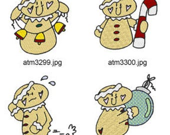 New-Christmas-Gingers ( 7 Machine Embroidery Designs from ATW ) XYZ17M