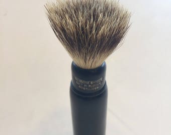 Vintage Badger Travel Shaving Brush