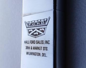 Zippo Slim 'Hall Ford Sales Inc' 1966