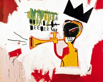 Jean-Michel Basquiat Trumpet, 1984