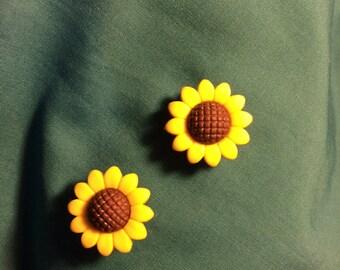Cute SUNFLOWERS Sun Flowers Sunflower Fall Autumn Clog Shoe Charms